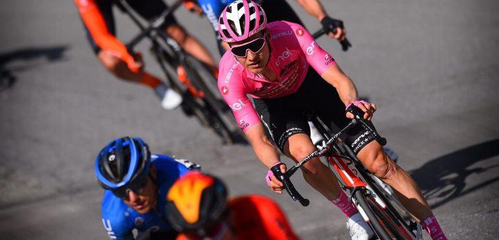"""Wilco Kelderman verliest roze trui: """"Ik heb verloren van twee betere renners"""""""