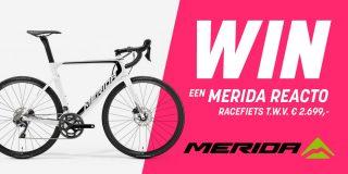 Winactie: Voorspel het podium van de Giro-etappe van dinsdag en maak kans op een Merida Reacto