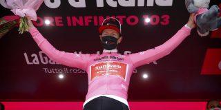 Giro 2020: Vechtende Kelderman grijpt roze trui in Stelvio-etappe, ritzege is voor Hindley