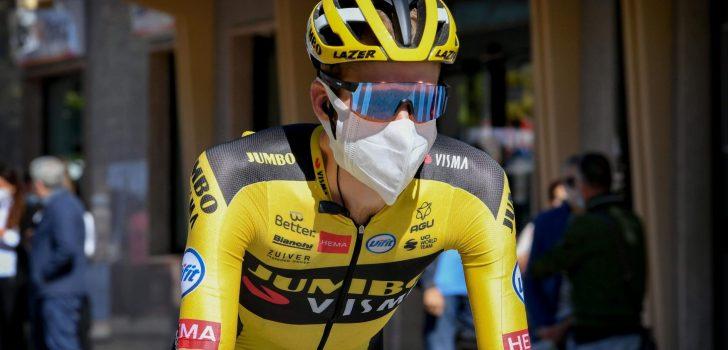 Steven Kruijswijk kreeg milde symptomen na positieve coronatest