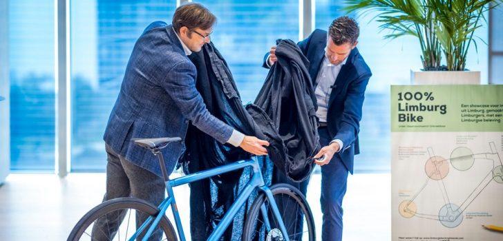 Bram Tankink presenteert unieke fiets