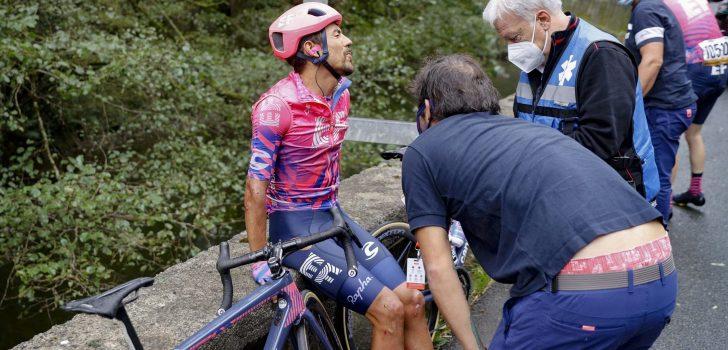 Vuelta 2020: Martínez en Geschke gaan niet meer van start