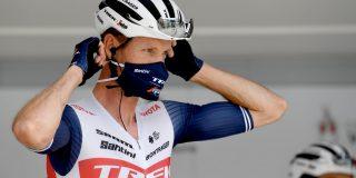 Pieter Weening (39) hangt zijn fiets aan de haak