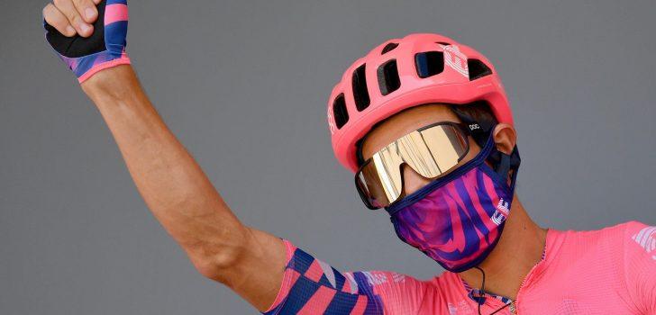 Rigoberto Uran twee jaar langer bij EF Pro Cycling