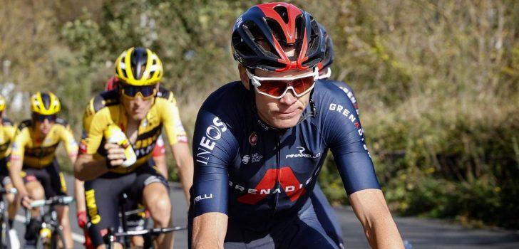 Chris Froome viert Vuelta-zege 2011 tijdens afscheid bij INEOS Grenadiers