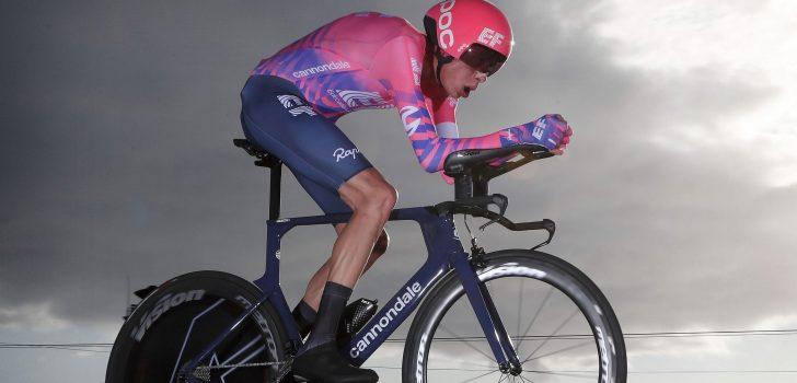 """Vuelta 2020: Hugh Carthy op weg naar podiumplaats na """"beste tijdritprestatie ooit"""""""
