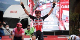 Vuelta 2020: Tim Wellens wint in Ourense zijn tweede etappe