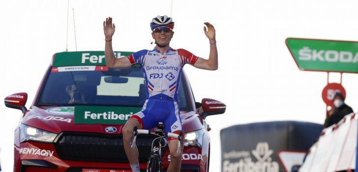 Vuelta 2020: Roglic overleeft aanval van Carapaz, Gaudu wint op Alto de la Covatilla