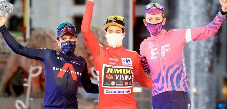 """Richard Carapaz tweede in Vuelta: """"Podiumplaats betekent veel voor mij"""""""