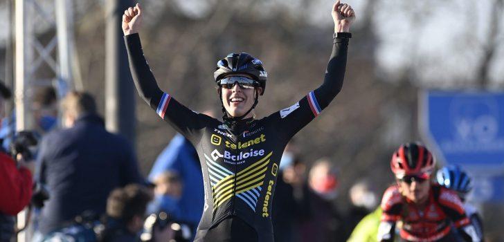 Lucinda Brand wint ook Urban Cross Kortrijk