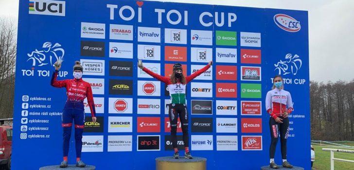 Blanka Kata Vas verslaat Suzanne Verhoeven in derde manche Toi Toi Cup