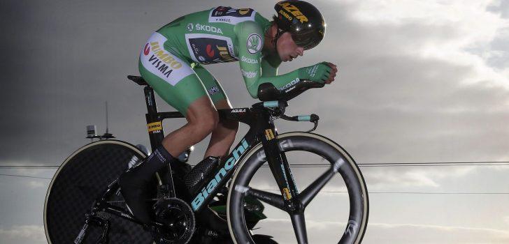 Vuelta 2020: Primoz Roglic slaat dubbelslag in tijdrit naar Mirador de Ézaro