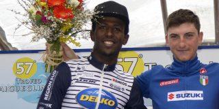 Biniam Ghirmay uitgeroepen tot beste Afrikaanse renner van 2020