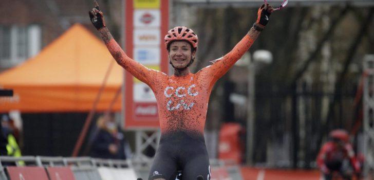 Marianne Vos wint direct bij haar comeback in Essen