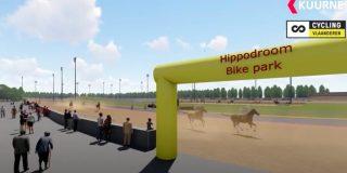 Eerste Belgische bikepark komt op Hippodroom Kuurne
