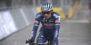 """David van der Poel vierde in Zilvermeercross: """"Had misschien wel even meegekund met Van Aert en Sweeck"""""""