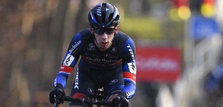 """Lars van der Haar zesde na inhaalrace: """"Chaos bij de start"""""""