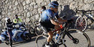 Domenico Pozzovivo krijgt op de Teide te maken met storm Filomena