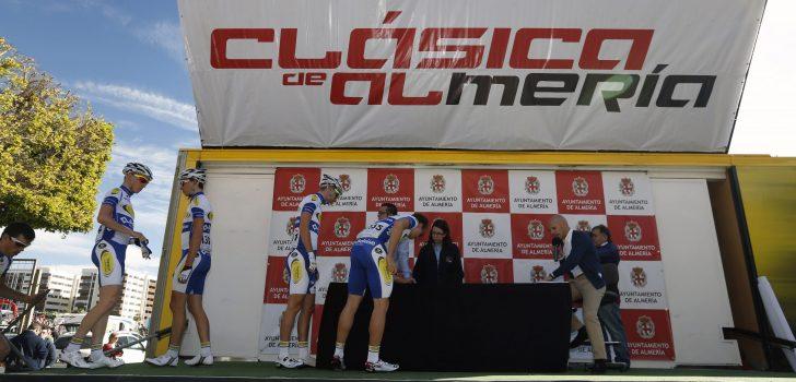Maar liefst 26 Belgen van start in de Clasica de Almeria