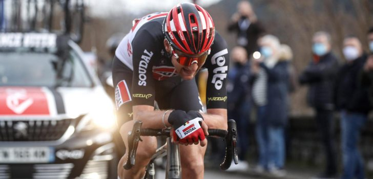 Tim Wellens kopman Lotto Soudal in Strade Bianche