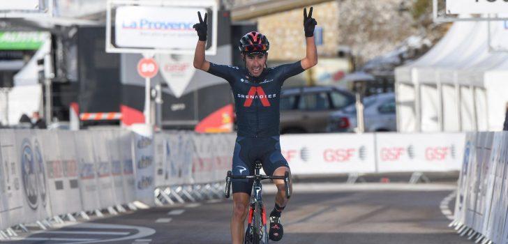 Tour de la Provence: Iván Sosa slaat toe op Mont Ventoux