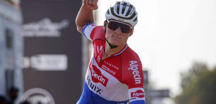 Mathieu van der Poel onderweg naar Nederland