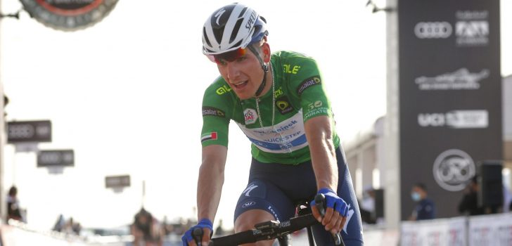 """Almeida beperkt schade in bergrit UAE Tour: """"Top-3 is nu mijn doel"""""""