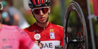 Tien seconden tijdstraf voor Tadej Pogačar in UAE Tour