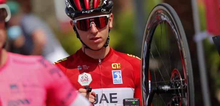 Volg hier de zesde etappe van de UAE Tour 2021