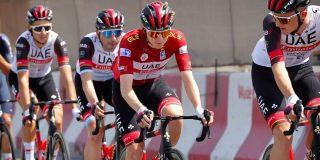 """Tadej Pogacar dicht bij eindzege UAE Tour: """"Morgen gewoon de rit uitrijden"""""""