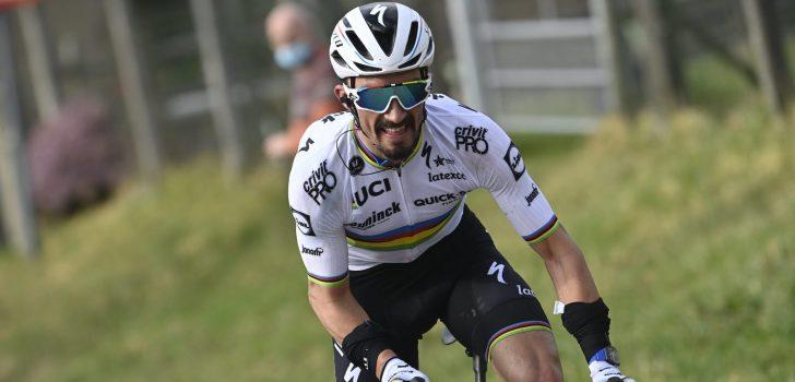 Wereldkampioen Alaphilippe tot eind 2024 bij Deceuninck-Quick-Step