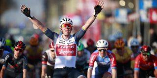 Mads Pedersen wint Kuurne-Brussel-Kuurne, Mathieu van der Poel kleurt de koers