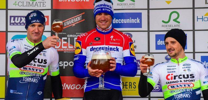 """Fabio Jakobsen op voorlopige deelnemerslijst GP Monseré: """"Maar kans dat hij start is minimaal"""""""