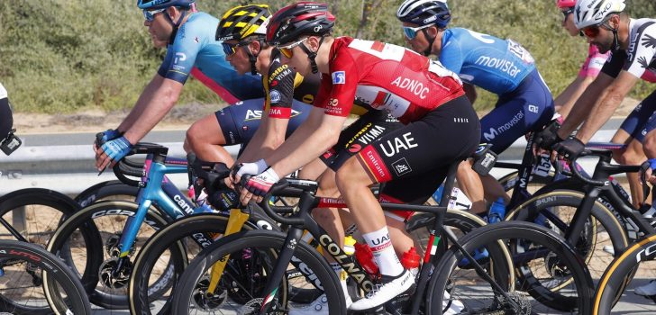 Tadej Pogacar kopman UAE Emirates in Ronde van het Baskenland