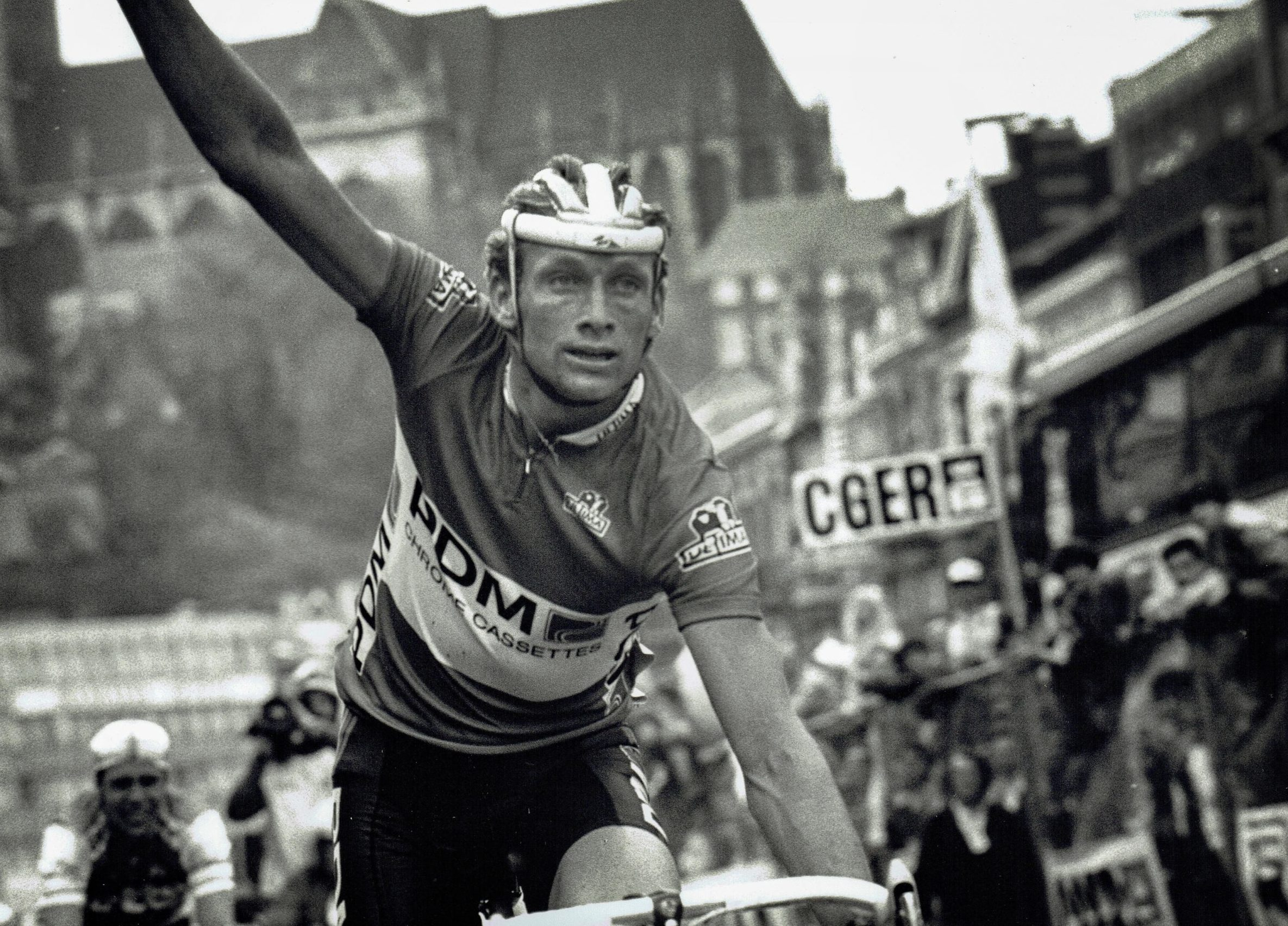 Adrie van der Poel wint Luik-Bastenaken-Luik 1988