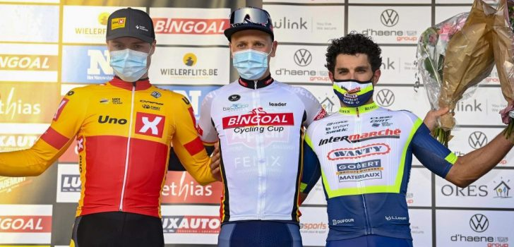 "Pasqualon derde in Le Samyn: ""Alles in de finale verliep perfect"""