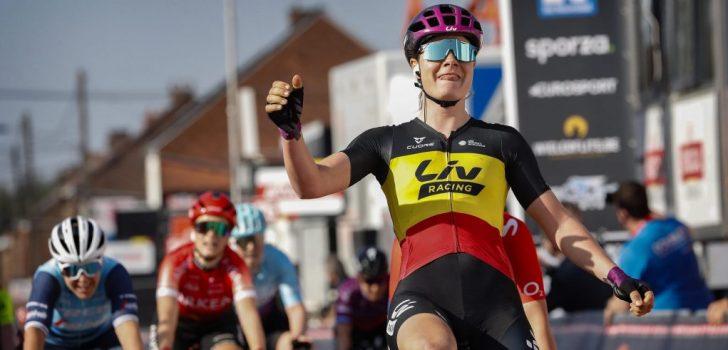 """Lotte Kopecky na winst in Le Samyn: """"Ontgoocheling van Omloop doorgespoeld"""""""