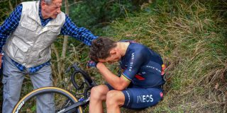 Michal Kwiatkowski reed drie weken met gebroken rib