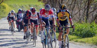Van der Poel, Alaphilippe en Bernal schudden wielerwereld wakker in Strade Bianche