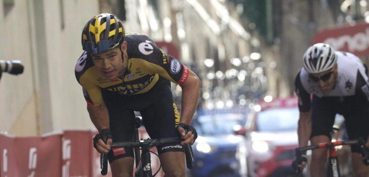 """Wout van Aert vierde in Strade Bianche: """"Ik mis die versnelling nog"""""""