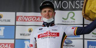 Leiding Bingoal Cycling Cup in handen van Tim Merlier