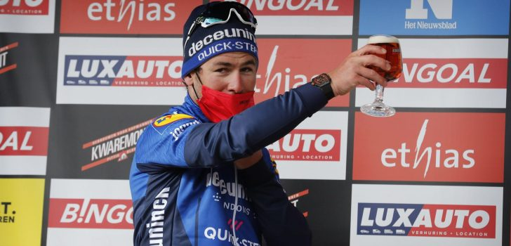 """Mark Cavendish tweede: """"Toen ik wilde reageren op Merlier, was het al te laat"""""""