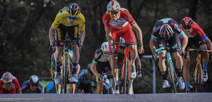 Parijs-Nice: Roglic wint op lastige aankomst in Biot, Teuns vierde
