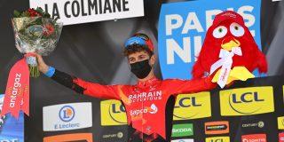 """Gino Mäder tweede in koninginnenrit Parijs-Nice: """"Huilen stond me nader dan het lachen"""""""