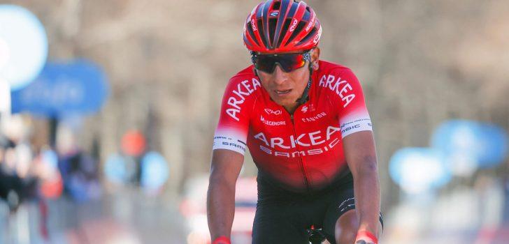 """Nairo Quintana: """"Ik ben niet in staat een klassement te rijden in de Tour"""""""