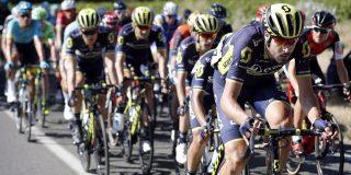 Opgave Sam Bewley (Team BikeExchange) in Ronde van Romandië