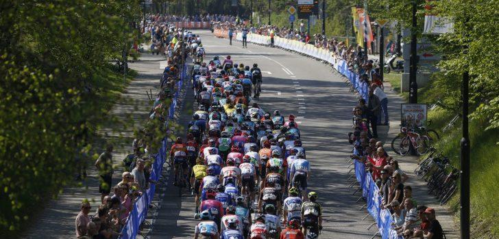 Amstel Gold Race wilde finishen op Maastrichtse Sint Pietersberg