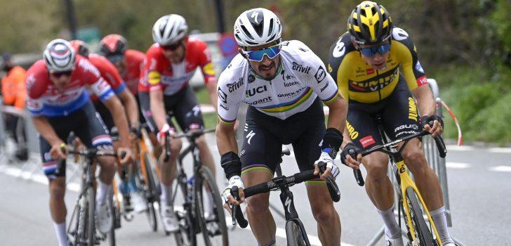"""Alaphilippe: """"Ronde van Vlaanderen niet de laatste zege van Asgreen"""""""