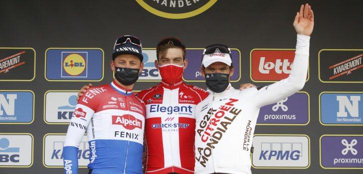 """Greg Van Avermaet op podium in De Ronde: """"Was het hoogst haalbare"""""""