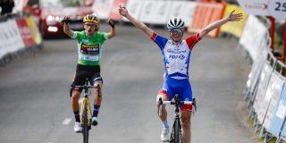 Roglic grijpt de macht in slotetappe Ronde van het Baskenland, Gaudu wint in Arrate